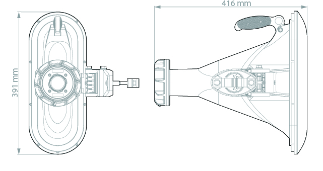 Dimensions for HG3 TP A90
